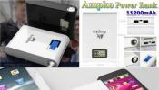 ขาย แบตสำรองมือถือAmpko Powerbank 11200 mAh รับประกัน 1 ปีเต็ม
