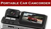 กล้องติดรถยนต์ Portable Car Camcorder ใช้บันทึกภาพเหตุการณ์ในขณะขับขี่รถยนต์
