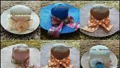 หมวกแฟชั่น หมวกปีกกว้าง หมวกเที่ยวทะเลสวยๆ ราคาถูกๆ
