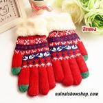 ถุงมือเกาหลี ถุงมือไหมพรมยาว ถุงมือขนสัตว์ ถุงมือเฟอร์ ถุงมือแฟชั่น ถุงมือกันหนาวพร้อมส่ง