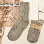 ถุงเท้าขนสัตว์ ถุงเท้ากันหนาว ถุงเท้าเกาหลี ถุงเท้าญี่ปุ่นพร้อมส่ง